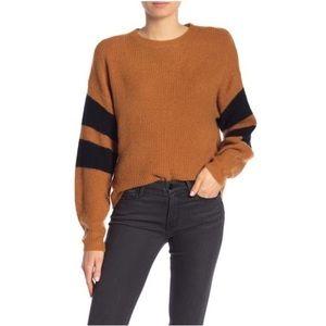 Anthropologie John + Jenn Varsity Striped Sweater